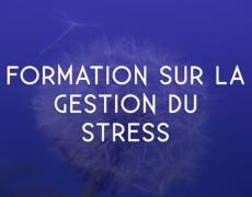 Formation sur la gestion du stress